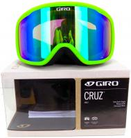 Giro CRUZ Bright Green Wordmark