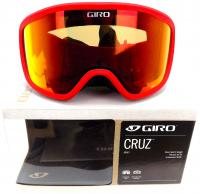 Giro CRUZ Bright Red Wordmark